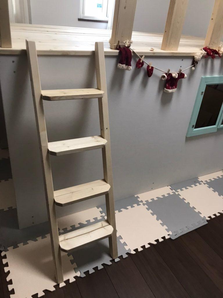 梯子 自作 DIY