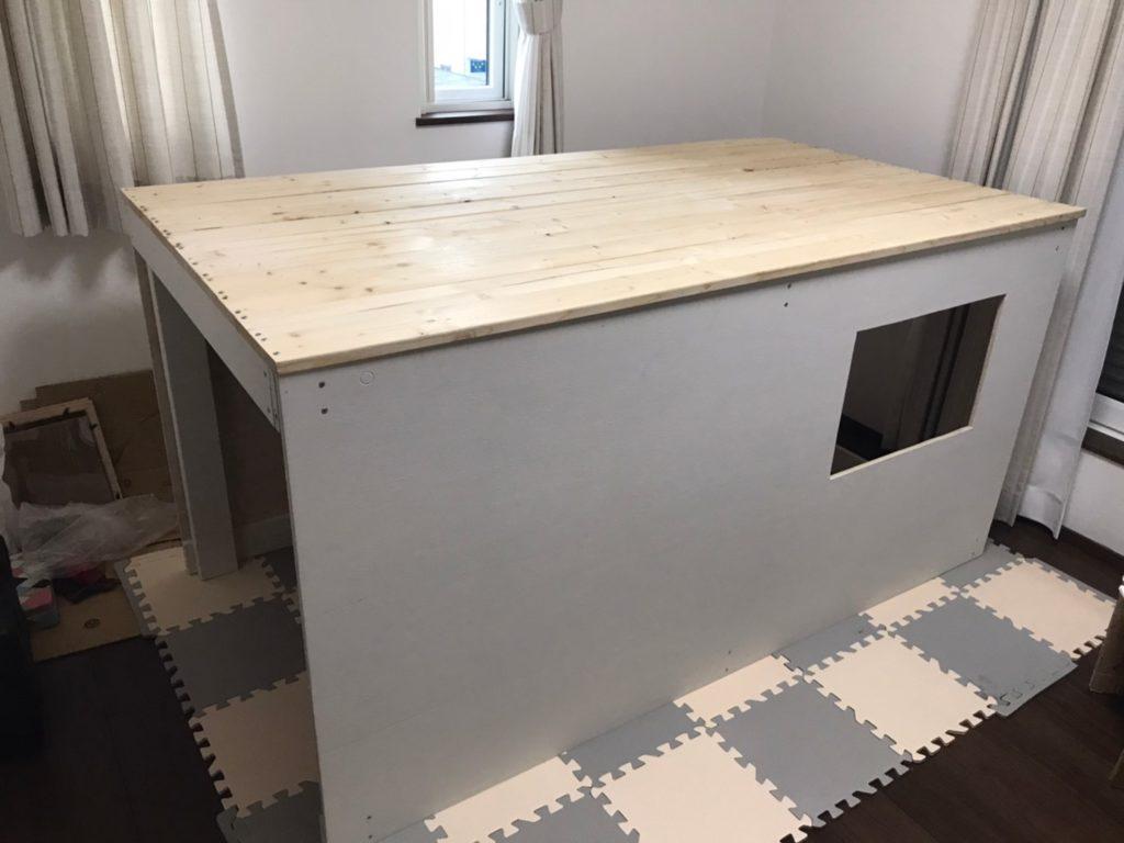キッズハウス DIY