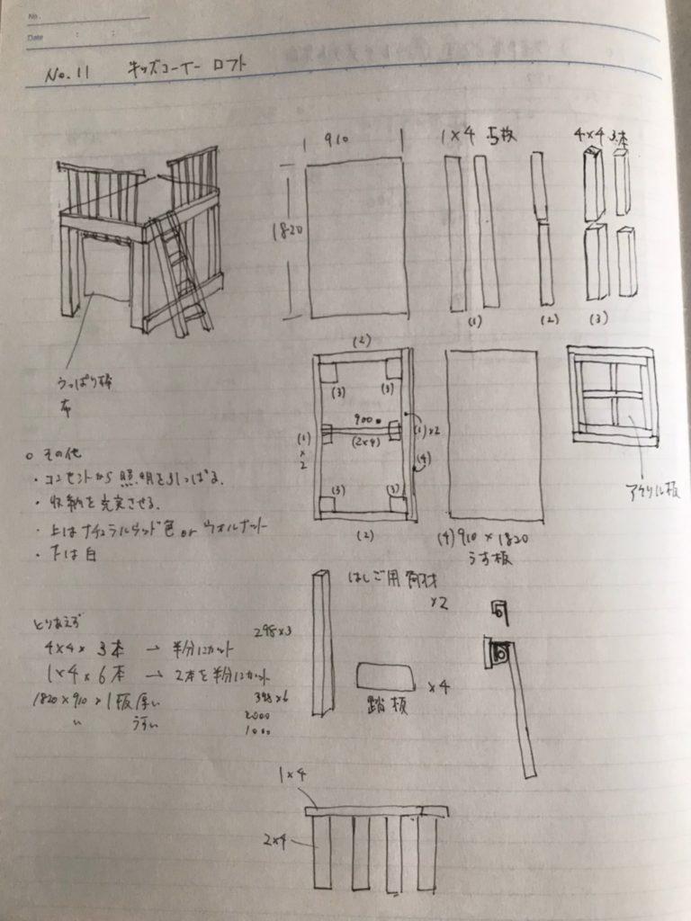 キッズハウス 設計図