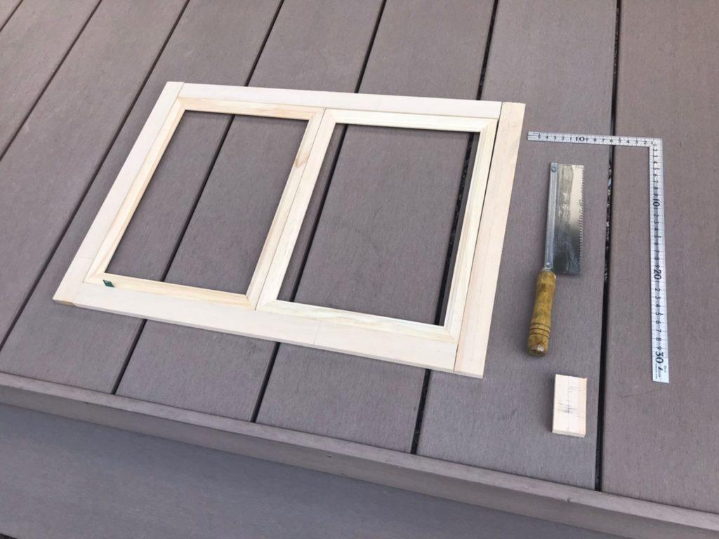 キッズハウス DIY 窓