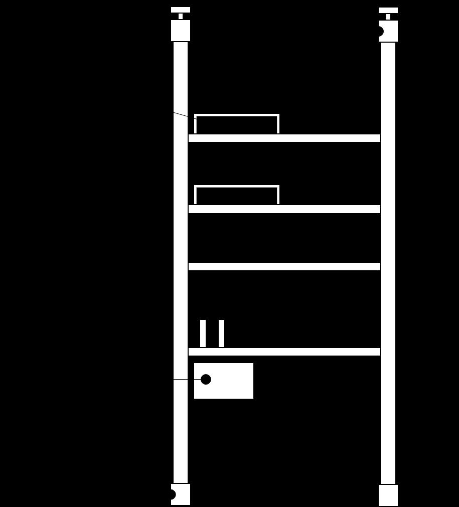 ラブリコ棚 図面