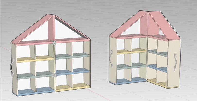 すみっコ ドールハウス 設計図